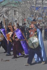 Kazakh warriors