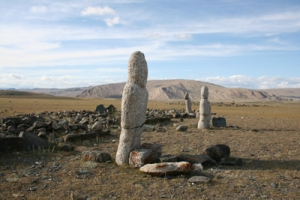 Turkic burial site